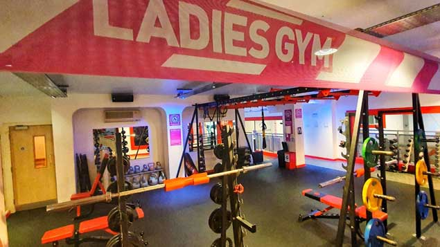 Ladies gym Kents Gym